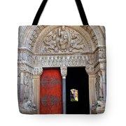 Church Entrance Arles France Tote Bag
