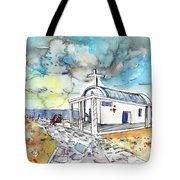 Church In Cape Gkreko In Cyprus Tote Bag