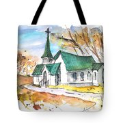 Church In Friars Point Mississippi Tote Bag