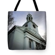Church In Perspective Tote Bag