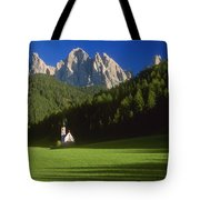 Church In The Countryside Tote Bag
