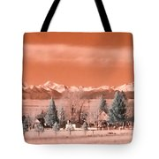 Church In The Mountains Tote Bag
