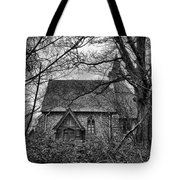 Church In The Woods Tote Bag by Dave Godden