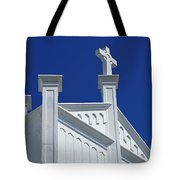 Church Key West Florida Tote Bag
