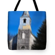 Church Of Days Gone By Tote Bag