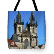 Church Of Our Lady Before Tyn Tote Bag