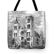 Church Of The Puritans Tote Bag