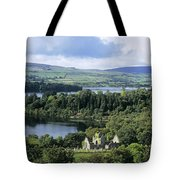 Church On A Landscape, Ballindoon Tote Bag