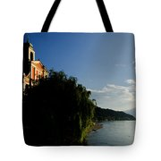 Church On The Lake Front Tote Bag
