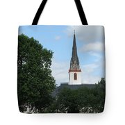 Church Steeple Tote Bag by Arlene Carmel