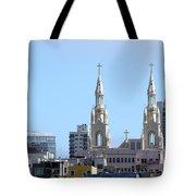 Church Top San Francisco Tote Bag