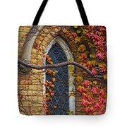 Church Window Autumn Tote Bag