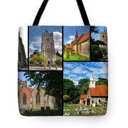 Churches Of Hillingdon Tote Bag