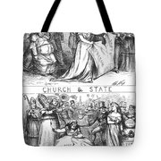 Church/state Cartoon, 1870 Tote Bag