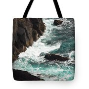 Churning Ocean Tote Bag