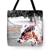 Cibolo Ranch Steer Tote Bag