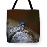 Cicindellidae Face To Face Tote Bag