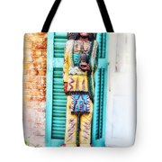 Cigar Store Indian - New Orleans Tote Bag