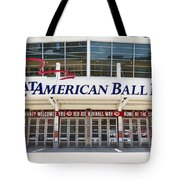 Cincinnati Great American Ball Park Entrance Sign Tote Bag