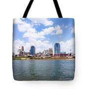 Cincinnati Skyline And Downtown City Buildings Tote Bag