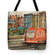 Cincinnati Streetcar Tote Bag