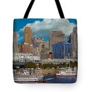 Cincinnati Tall Stacks  Tote Bag