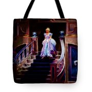 Cinderella Enters The Ball Tote Bag