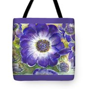 Cineraria Of South Africa  Tote Bag