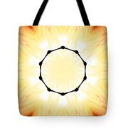 Circle Of Light Tote Bag