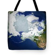 Circum-arctic Permafrost Tote Bag