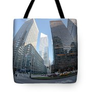 Citigroup Center From Park Avenue I Tote Bag