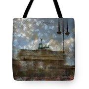 City-art Berlin Brandenburger Tor II Tote Bag