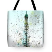 City-art Paris Eiffel Tower II Tote Bag