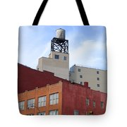 City Buildings On Bowery Tote Bag