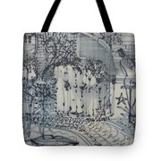 City Doodle Tote Bag