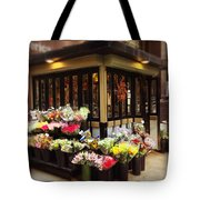 City Flowers Tote Bag