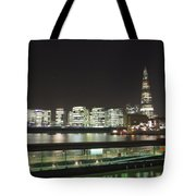 City Hall And Hms Belfast Tote Bag
