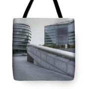 City Hall And The Shard Hms Belfast Thames London Tote Bag
