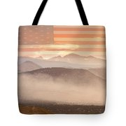 City Of Boulder Colorado Usa Wildfire Season Tote Bag