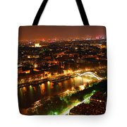 City Of Light Tote Bag by Elena Elisseeva