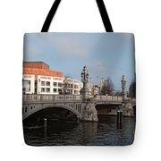 City Scenes From Amsterdam Tote Bag