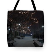 City Tranquility Tote Bag
