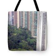 City Versus Nature Tote Bag