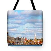 City View Four Tote Bag