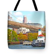City View Three Tote Bag