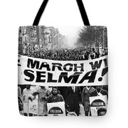 Civil Rights March, 1965 Tote Bag by Granger