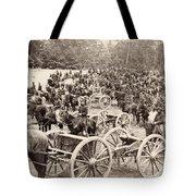 Civil War: Artillery, 1862 Tote Bag