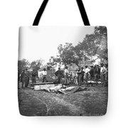 Civil War Burial, 1864 Tote Bag