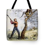 Civil War Cartoon, 1862 Tote Bag by Granger