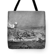 Civil War: Cavalry Charge Tote Bag